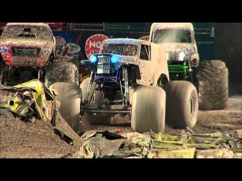 Download Youtube: Monster Jam - Son-Uva Digger Monster Truck Full Freestyle Run from Miami Florida - 2012