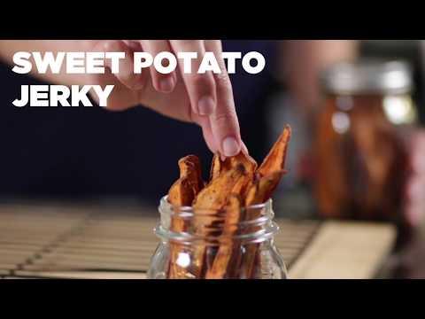 Organic Sweet Potato Jerky Recipe