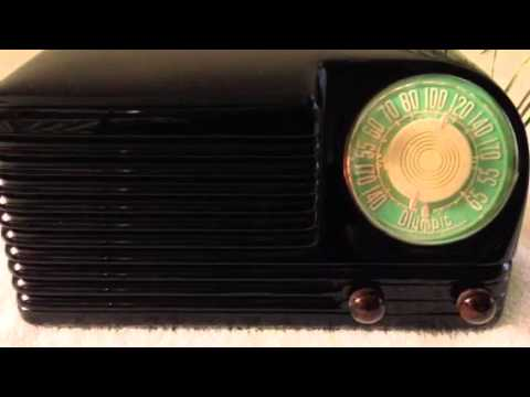 Vintage Olympic 6-501 Radio video