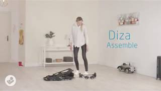 Video: Maxi-Cosi Diza jalutuskäru