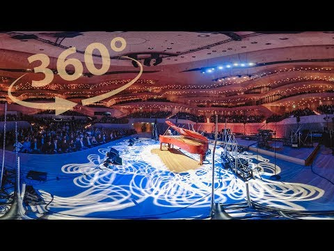 Bohemian Rhapsody 360° Piano Solo - Elbphilharmonie - Costantino Carrara