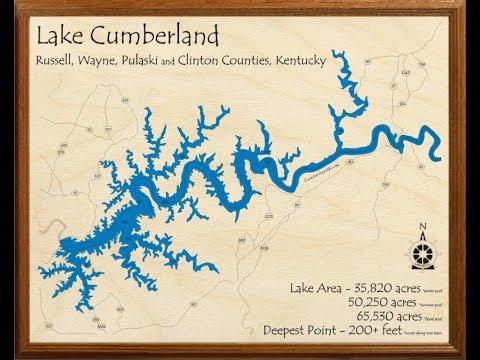 lake cumberland ky map Upcoming Fishing Trip To Lake Cumberland Ky Youtube lake cumberland ky map