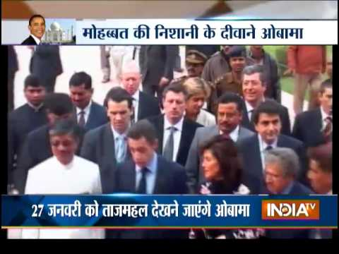 Special Report: Barack Obama's Taj Mahal Visit - India TV