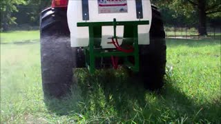 My New PTO Sprayer ~ Killing Weeds In Pastures