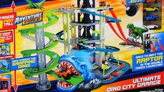 Super Epic Adventure Force Ultimate Dino City Garage
