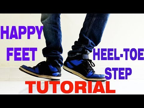 How To Do The Heel Toe / Happy Feet | Nishant Nair Tutorial