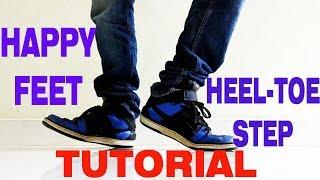 Video How to do the Heel Toe / Happy Feet | Nishant Nair Tutorial download MP3, 3GP, MP4, WEBM, AVI, FLV November 2017