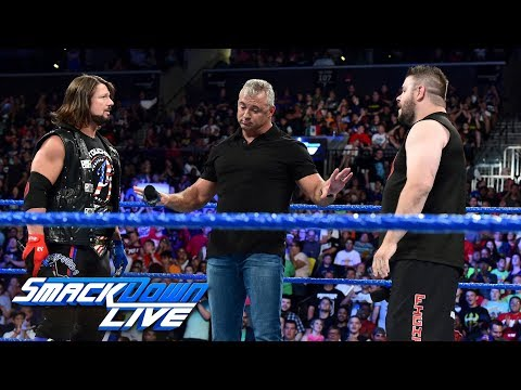 Thumbnail: Kevin Owens demands a rematch with AJ Styles: SmackDown LIVE, Aug. 22, 2017