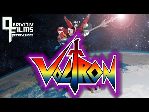 Voltron Defender of the Universe Intro Recreation