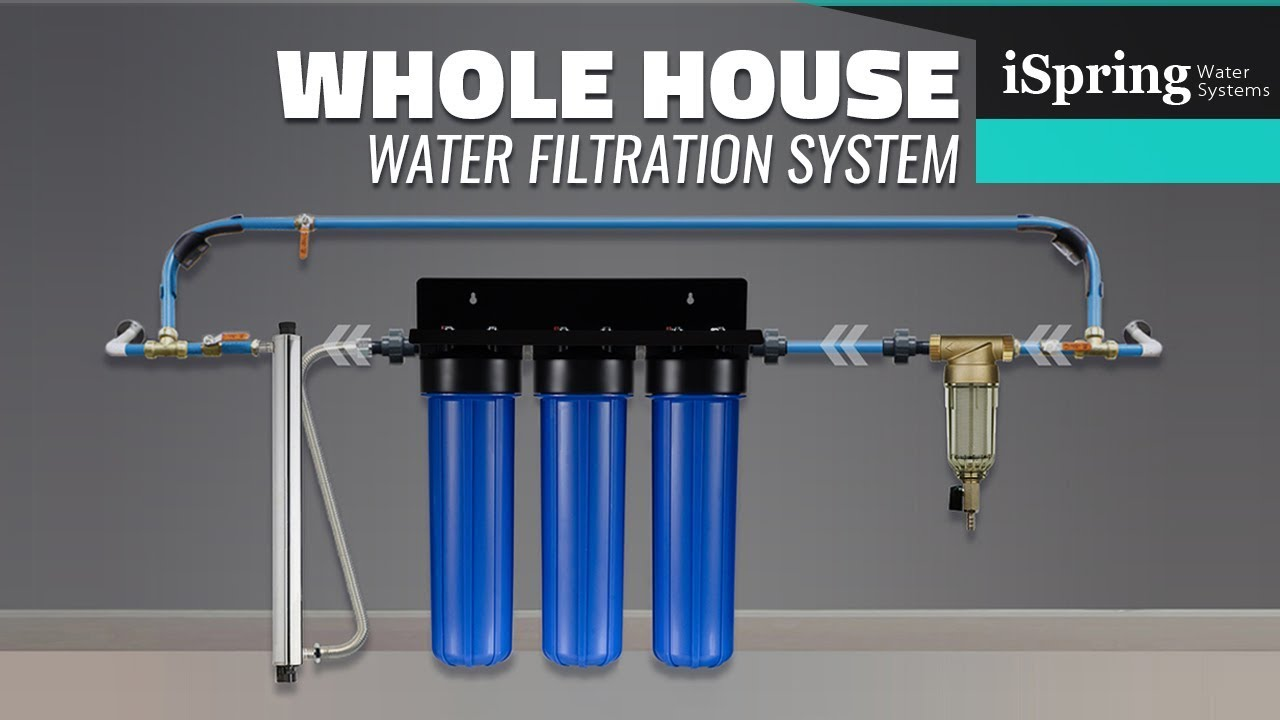 Diy Installation Guide To Ispring Whole House Water System And How To Connect Youtube