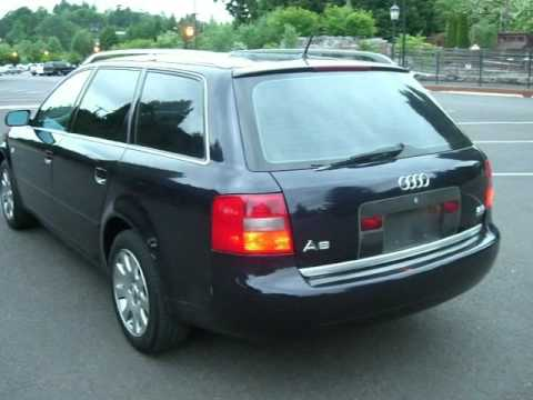 2000 AUDI A6 QUATTRO WAGON WITH ONLY 107K LOOKS & DRIVES EXCELLENT