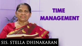 Time Management (English - Hindi) | Sis. Stella Dhinakaran
