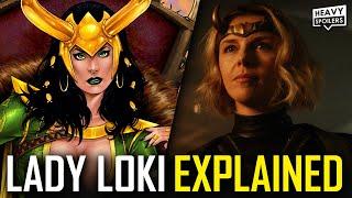 LOKI Lady Loki Explained: Full Comic Book Origins, Powers & Episode 3 Sylvie Theories | Marvel MCU