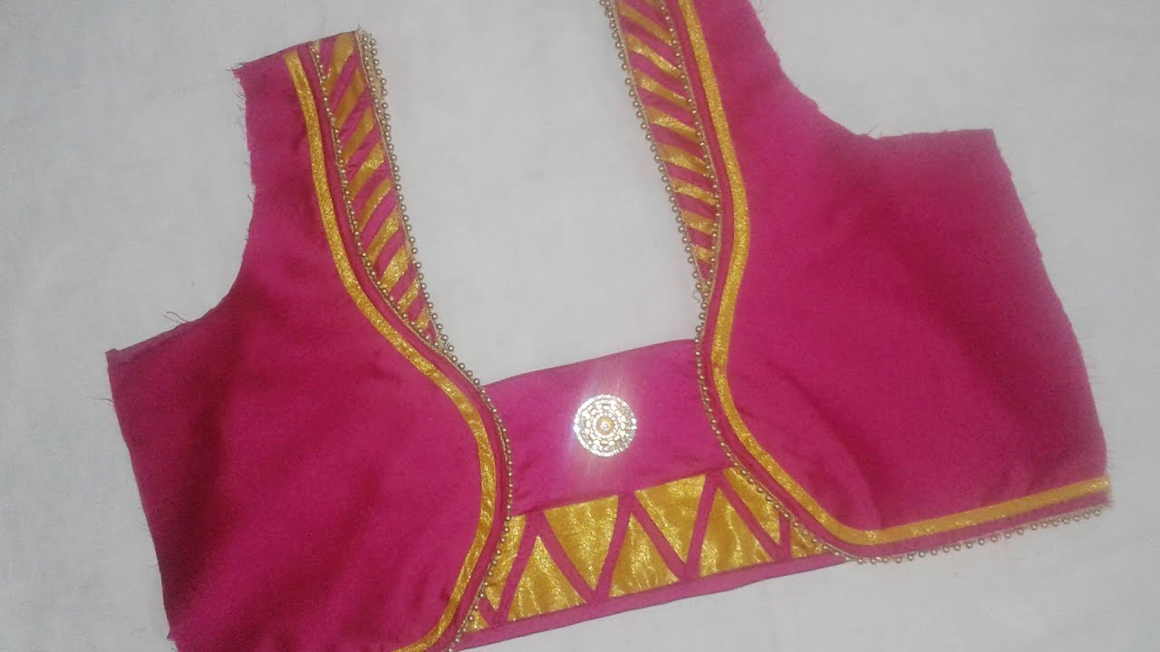 In tamil cutting neck 2017 blouse model and stitching shipping australia xxi