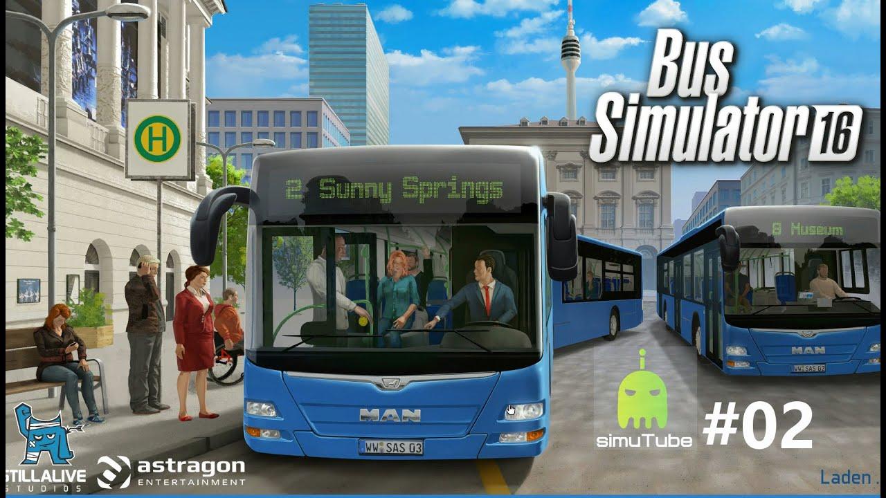 Bus Simulator 16 Tur Klemmt 02 60fps Let S Play German Hd