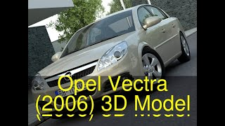 3D Model of Opel Vectra (2006) Review