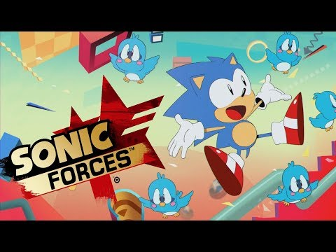 Sonic Mania Opening with Sonic Forces