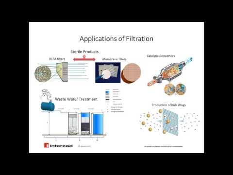 Webinar: Filtration system design in SOLIDWORKS Flow Simulation porous media