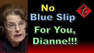 Truthification Chronicles No Blue Slips for You, Dianne!!!
