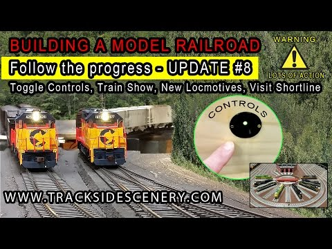 Update #8 BUILDING A MODEL RR –  Controls, New Locos, Train Show, Shortline RR