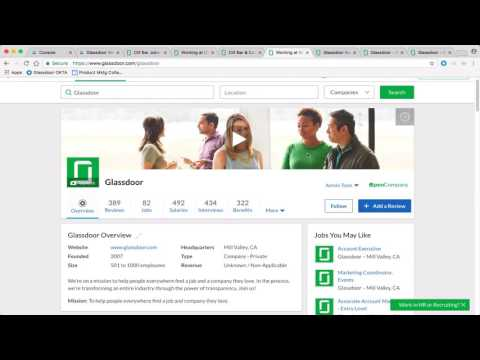 Demo: How to Brand and Recruit on Glassdoor