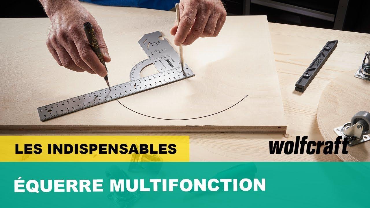 Une équerre multifonction, précise et pratique  wolfcraft by