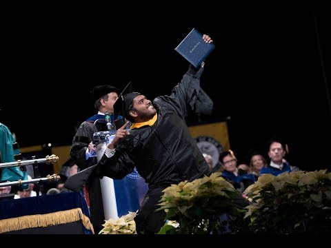 University of New Haven 2017 Winter Commencement