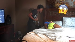 CHEATING IN MY DREAM PRANK!!! (HE FLIPPED ME)