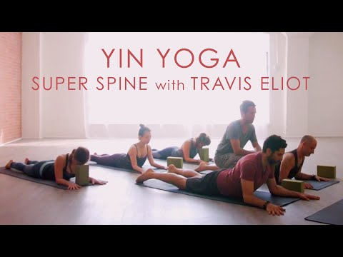 """45min. Yin Yoga """"Super Spine"""" Class with Travis Eliot – Inner Dimension TV"""