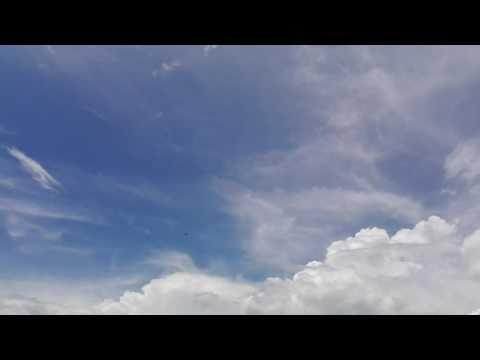 UAV Elang Nusa Telkomsel, take off at Governor office - Papua Province