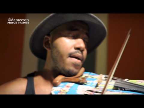 Hip-Hop Violinist Damien Escobar - 10 Bands Freestyle In NYC