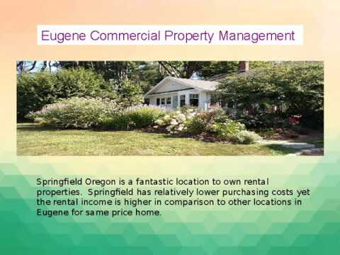 Property Management Eugene Oregon