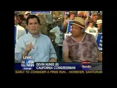 California's Man Made  Water Crisis - Congressman Devin Nunes and Paul Rodriguez