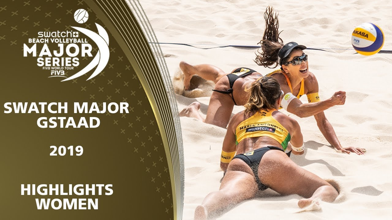 These Ladies fight for EVERY POINT | 5* Gstaad (SUI) - 2019 FIVB Beach Volleyball World Tour
