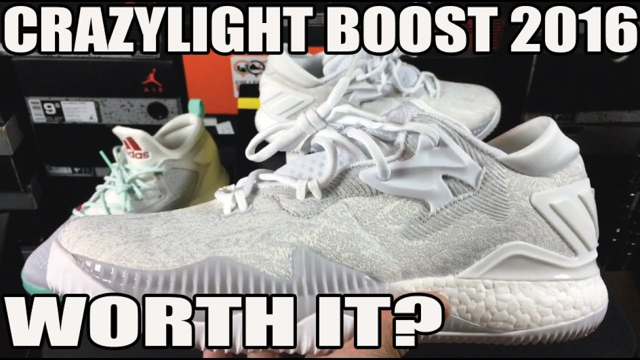 new concept 770f2 9acbd Is It Worth Buying adidas Crazylight Boost 2016 Review  On Feet