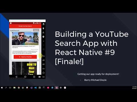 Simple YouTube Search App #9 [FINALE!]: Building an APK and IPA
