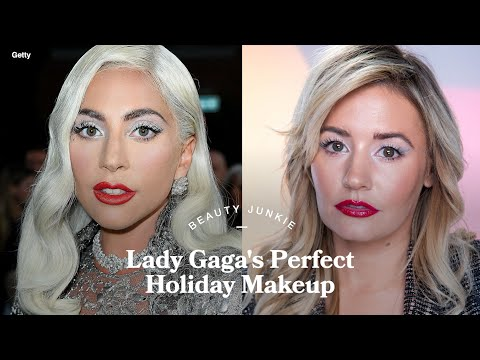 The Unique Trick to Getting Lady Gaga's Futuristic Metallic Winged Liner