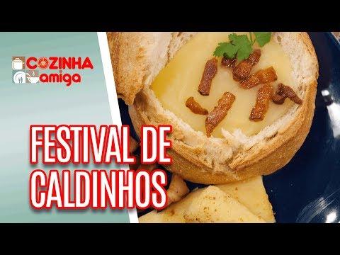 Festival de Caldinhos - Patricia Gonçalves | Cozinha Amiga (20/06/18)