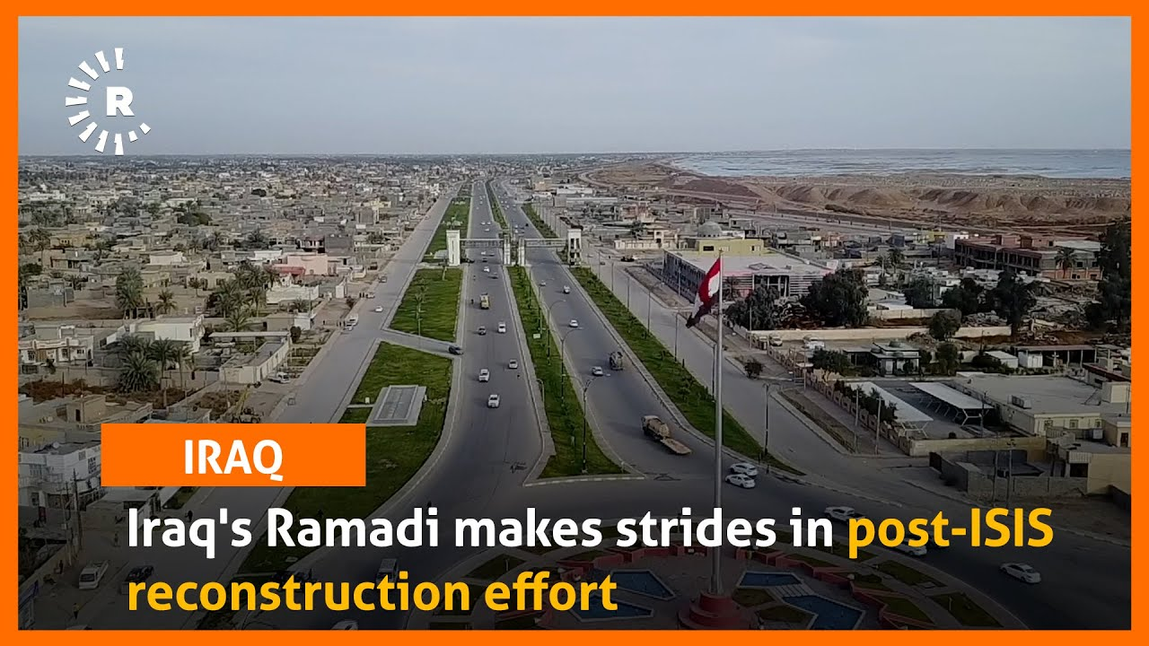 Download Iraq's Ramadi makes strides in post-ISIS reconstruction effort