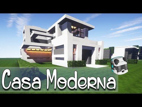 Como hacer una linda casa moderna en minecraft asurekazani for Como hacer una casa clasica en minecraft
