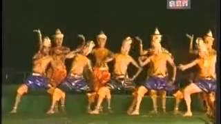 Cambodian Royal Ballet - Churning of the Milk Ocean Part 2 - Angkor Wat