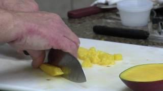 Mango Peach Pinaaple Salsa