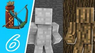 Dansk Minecraft - I AM STONE CHALLENGE!
