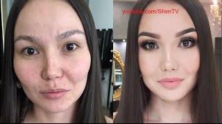 Чудеса макияжа, ужас - до и после макияжа!!! #2