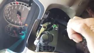 DIY Honda Pilot sticky hard stiff gear shifter lever fix Odyssey Accord CRV Element seized hard gear
