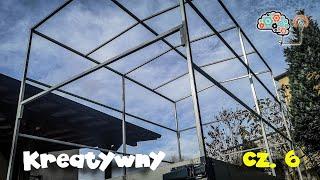 Budowa lekkiego stelaż pod plandekę PVC | How to Build a DIY Trailer - The Frame 6/7