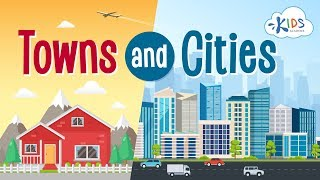 Towns and Cities | Learn the Difference | Kids Academy