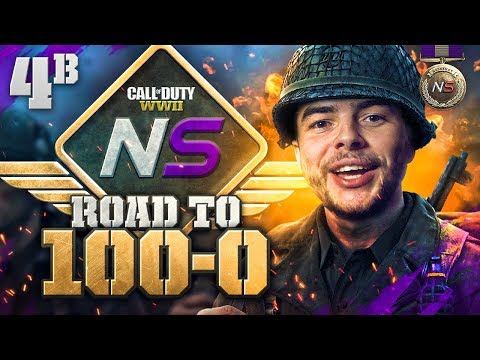 "Road to 100-0! - Ep. 4B - They Call it ""MAP AWARENESS""! (Call of Duty:WW2 Gamebattles)"