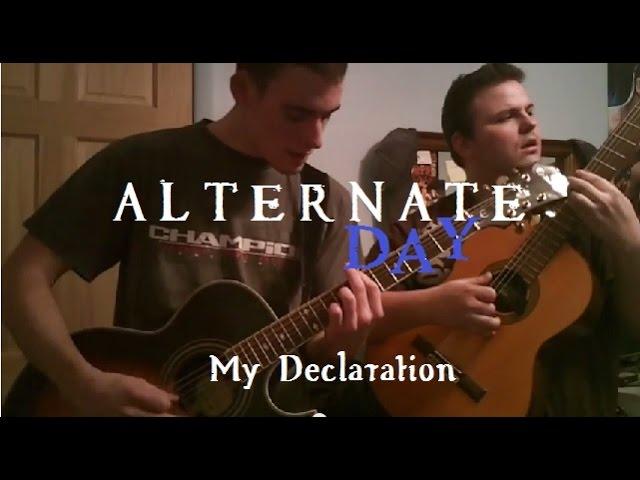 My Declaration (performance video)