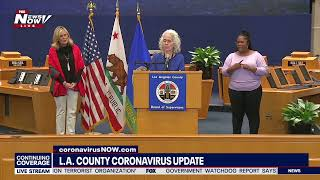 LIVE: Coronavirus Updates From Across The Country